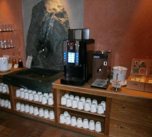 Kaffeemaschine Hotel Post Lermoos