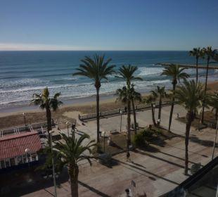 Blick auf das Mittelmeer Hotel Platjador