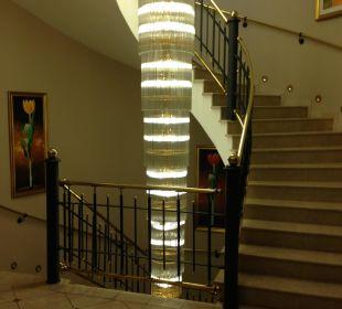 Die Treppe zum Pool! Cavallino Bianco Family Spa Grand Hotel