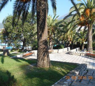 Ausenansicht Hotel Queen of Montenegro