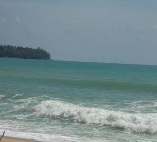 Meer am Hotelstrand Hotel Banyan Tree Phuket