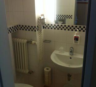 Tolle, neue Badezimmer Hotel Sachsenhof