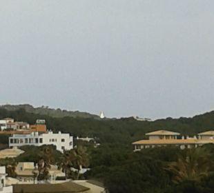 Blick vom Balkon in Ri Leuchtturm Hotel & Spa S'Entrador Playa