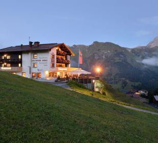 Aussenansicht Hotel Goldener Berg