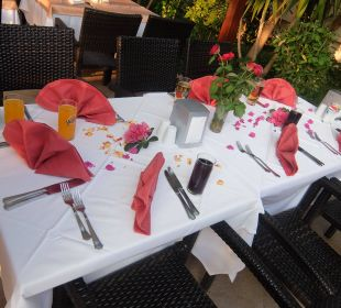 Gedeckter Tisch - danke Himmet & Seda Hotel Seamelia Beach Resort