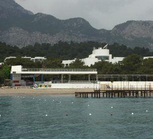 Ausblick vom Boot Kilikya Palace Göynük