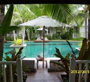 Unsere Terrasse Hotel Rest Detail Hua Hin