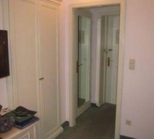 Flur mit separater Toilette Hotel Erzherzog Rainer