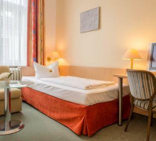 Einzelzimmer Comfort Hotel Tiergarten Berlin