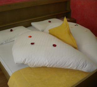 Das Bett Gasthof zum Hirschen