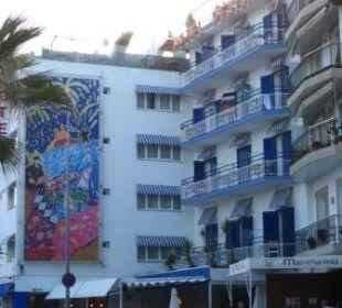 Außenansicht Hotel Platjador