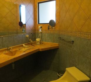 Badezimmer Hotel Montana de Fuego