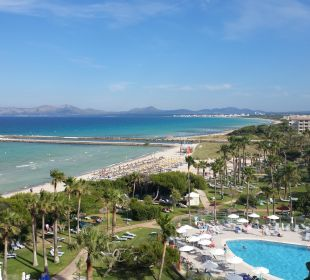 Blick aus Zimmer  Hotel Playa Esperanza