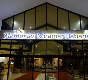 Eingang Memories Miramar Habana