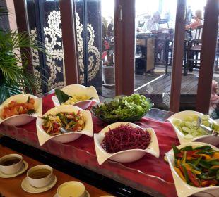 Frühstück - Gemüseauswahl Hotel Mukdara Beach Villa & Spa Resort
