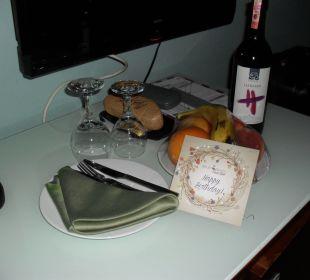 Zum Geburtstag meiner Frau...vielen Dank ! Belek Beach Resort Hotel