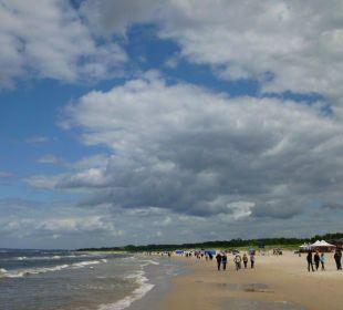 Wunderschöner langer Strand Baltic Home Apartments