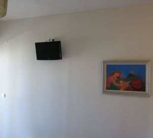 Kleiner Fernseher Hotel Corissia Beach