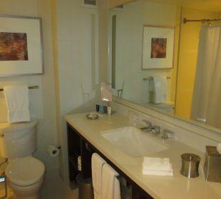 Badezimmer mit WC Crowne Plaza Hotel Times Square Manhattan