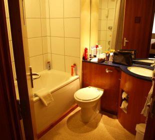 Badezimmer Hotel Premier Inn London Wembley Stadium
