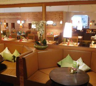 Blick ins Resaurant Hotel Bon Alpina