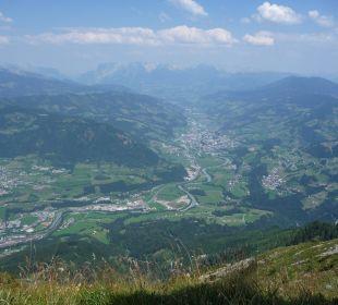 Blick vom Heukareck Alpines Lifestyle Hotel Tannenhof