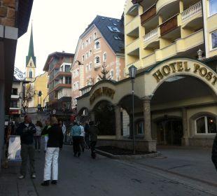 Dorfgasse Hotel Goldener Adler