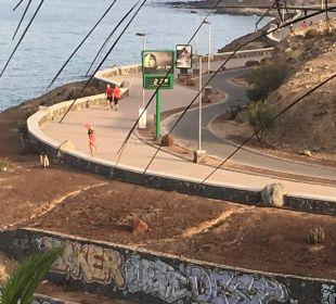 Die Promenade - Joggen! Lopesan Villa del Conde Resort & Spa