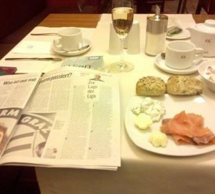 Sektfrühstück im Maria Theresia K+K Hotel Maria Theresia
