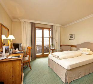 Einzelzimmer Beispiel Hotel Zugspitze