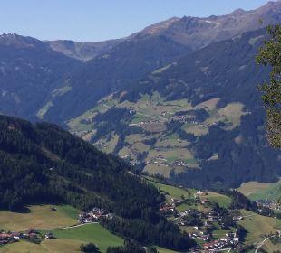 Blick ins Tal (August) Alpengasthof Enzianhof