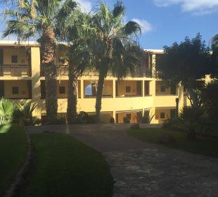 Einzelne Gebäude Hotel Barcelo Jandia Playa