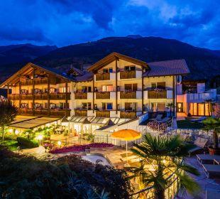 Abendansicht vom Aktivresort Dolce Vita Hotel Jagdhof Aktiv & Bike Resort