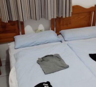 Schlafzimmer  Bungalows & Appartements Playamar