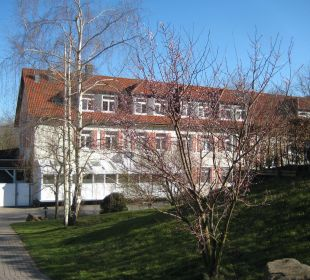 Haupthaus Rückseite Berghotel Ilsenburg