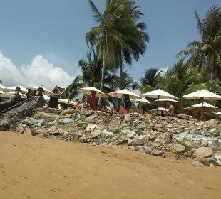 Befestigungsmauer am Strand Hotel Mukdara Beach Villa & Spa Resort