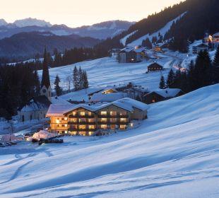 Hubertus in der Abendstimmung Hubertus Alpin Lodge & Spa