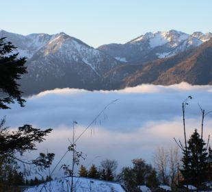 Über den Wolken Alpenhotel Schliersbergalm