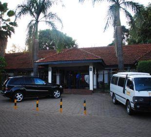 Eingang Hotel Southern Sun Mayfair