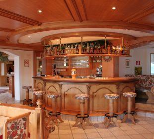 Restaurantbar für ein gemütliche Runde am Abend Hotel Lärchenhof