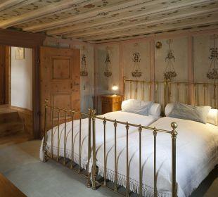 Romantik Zimmer Nr. 35 Chesa Salis Historic Hotel Engadin