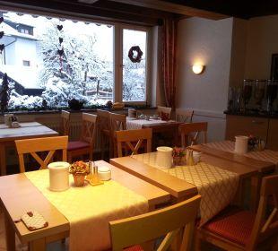 Frühstücksraum Hotel Trifthof
