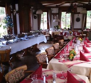 Tafel 2 Hotel-Pension Altes Forsthaus