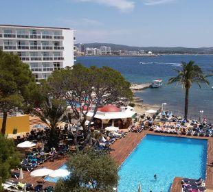 Vom balkon Fiesta Hotel Milord