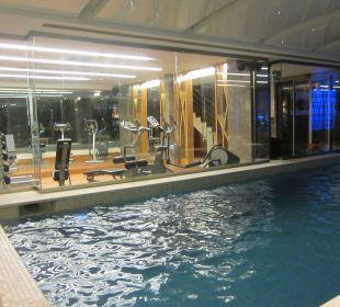 Spa-Bereich und Fitnessraum