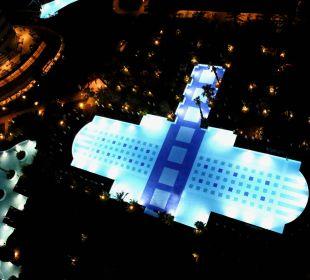 Pools at Night Hotel Concorde De Luxe Resort