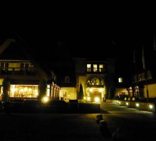 Auch nachts ein schöner Anblick Hotel Forsthaus Damerow