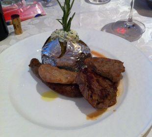 Abendessen Cavallino Bianco Family Spa Grand Hotel