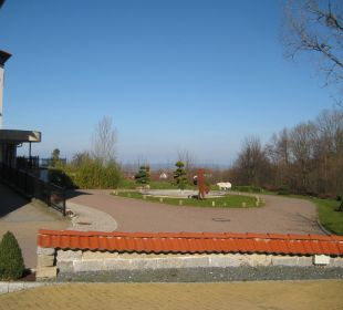 Blick vom Parkplatz Berghotel Ilsenburg