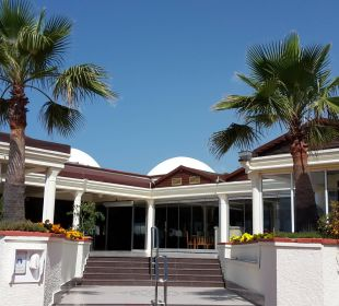 Eingang Restaurant Club Aldiana Side